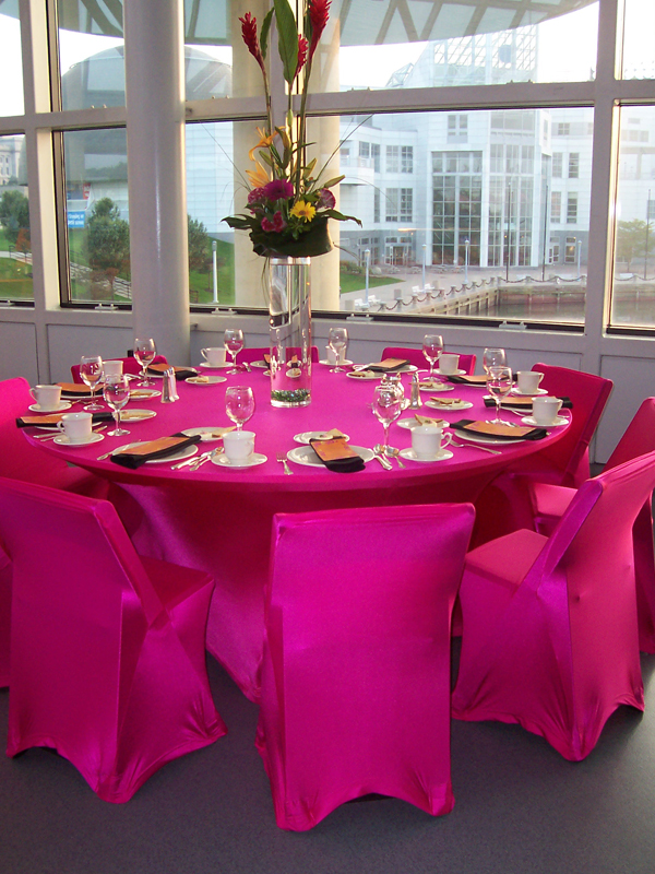 Exceptional ... Bright Neon Spandex Chair Covers ...